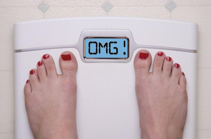 1. Cambios repentinos de peso.