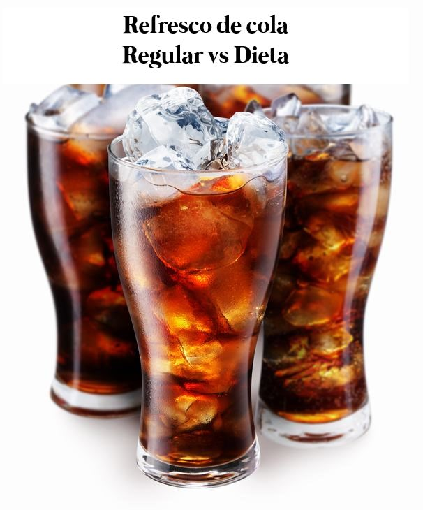 Refresco Normal vs Refresco De Dieta