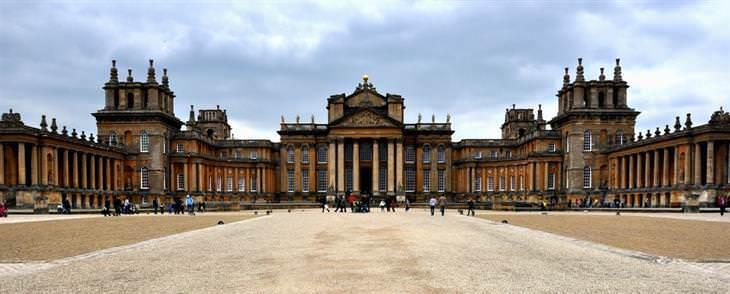 10 Bellos Sitios Patrimonio De La Humanidad En Inglaterra Palacio de Blenheim vista exterior