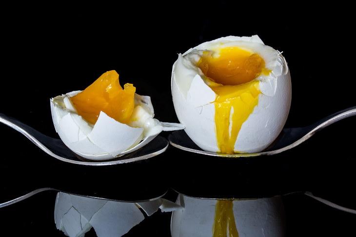 2, Las claras de huevo por sí solas no son lo suficientemente buenas