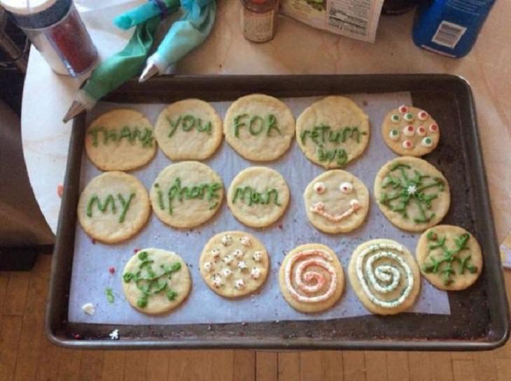 15 Historias Humanas Conmovedoras y Altamente Positivas galletas como recompensa