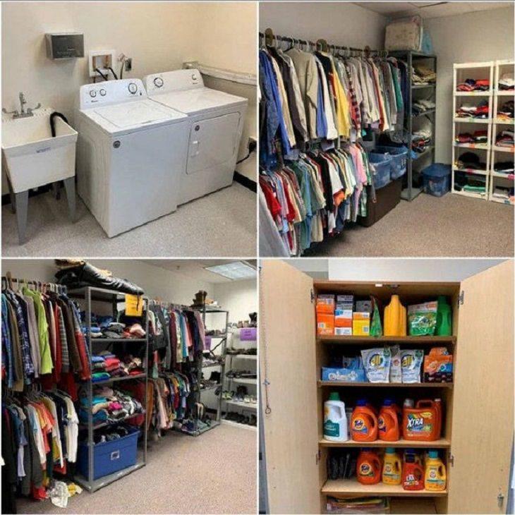 15 Historias Humanas Conmovedoras y Altamente Positivas escuela secundaria con lavadora
