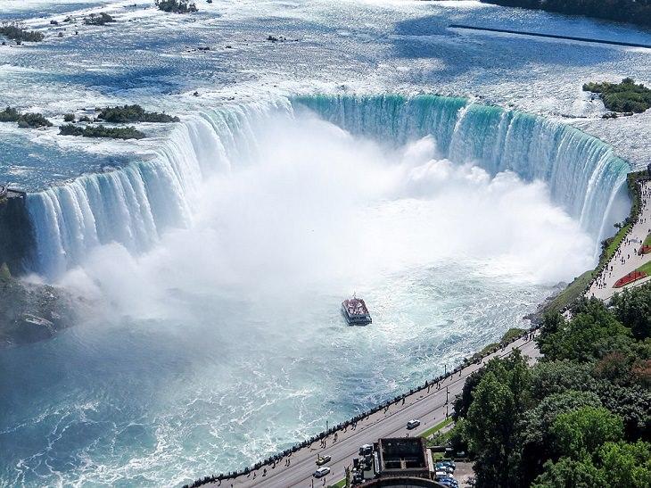 1. Cataratas de herradura, en Niagara Falls, Ontario