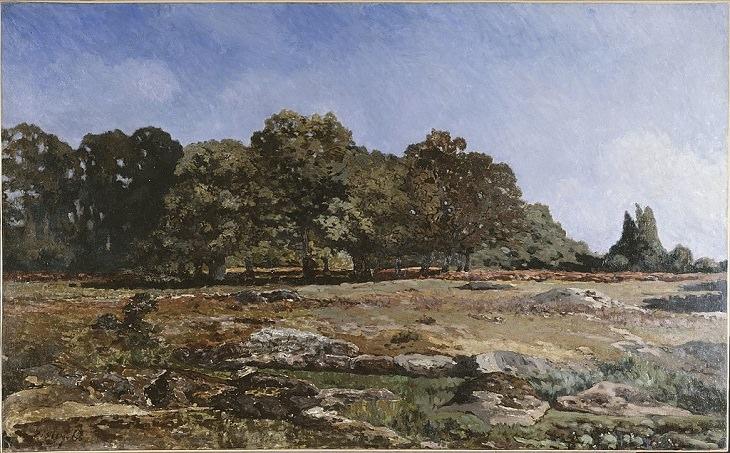 20 Bellas Obras Del Arte Impresionista De Alfred Sisley Avenida de los castaños de La Celle-Saint-Cloud, 1865