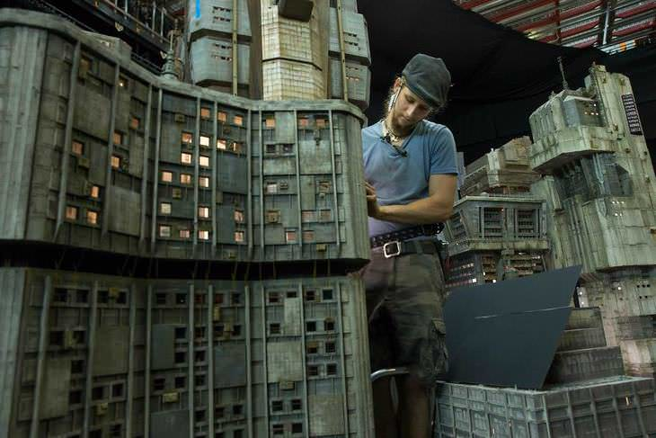 sets de Blade Runner 2049 se hicieron en realidad a partir de miniaturas