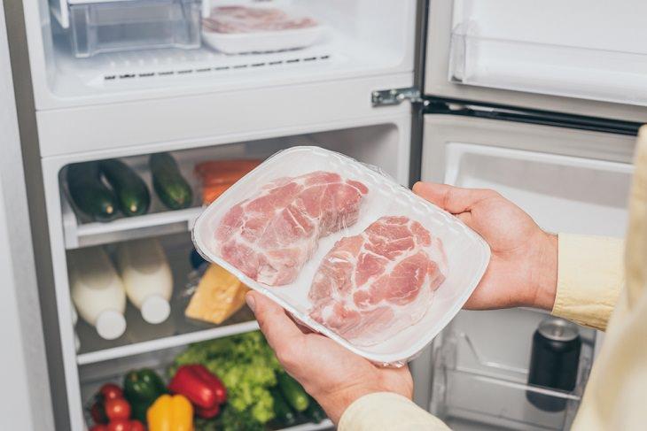 Cinco mejores alimentos congelados que puedes comprar carne congelada