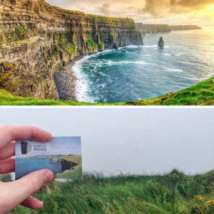 Expectativas Vs. Realidad Destinos Turísticos Acantilados de Moher, County Clare, Irlanda