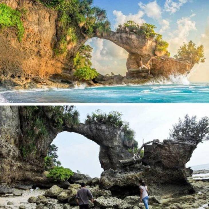 Expectativas Vs. Realidad Destinos Turísticos Isla Neill, India