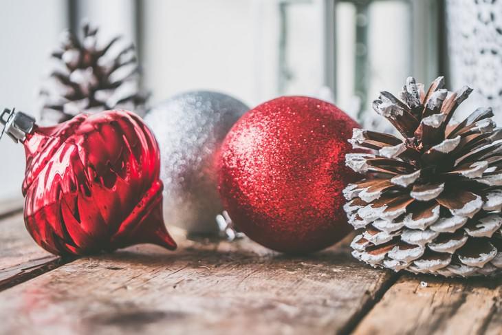 2. Decoraciones navideñas
