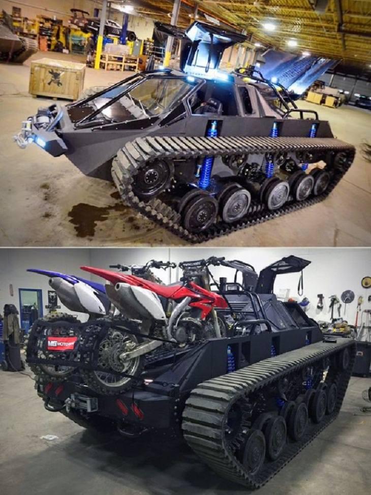 1. ¿Es un coche o es un tanque?