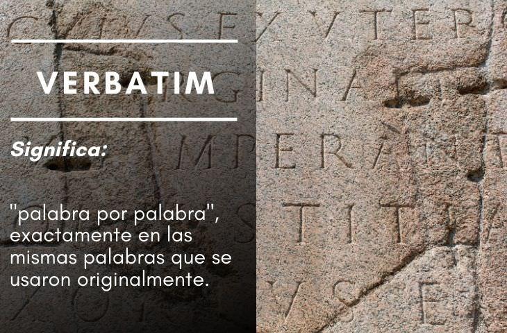 15 Frases En Latín Que Usamos Cada Día verbatin
