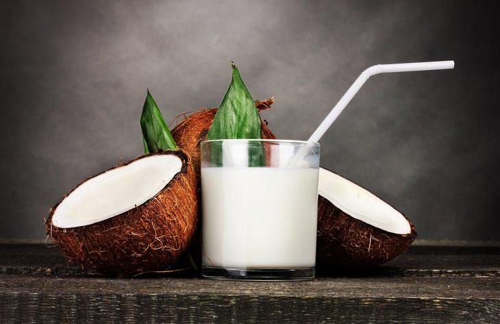 Prueba Estas Deliciosas y Cremosas Alternativas Saludables leche de coco