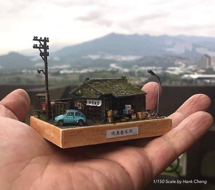 Dioramas De Hank Cheng Casa