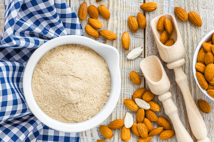 ¿Qué es la harina de almendras?
