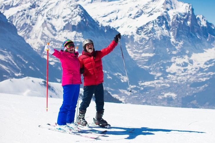 2. La esperanza de vida en Suiza es muy alta