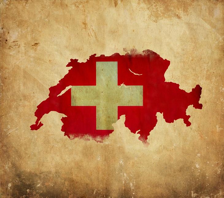 1. En Suiza, hay 4 idiomas oficiales