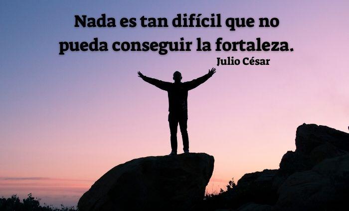 12 Frases Sobre La Importancia De La Fortaleza Interna Nada es tan difícil que no pueda conseguir la fortaleza.