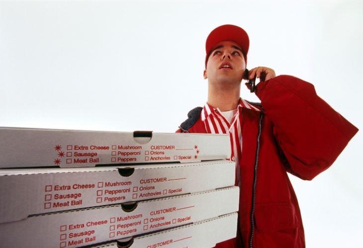 Chiste: El Repartidor De Pizza