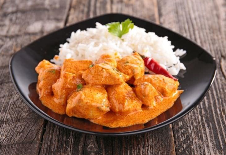 Receta De Pollo Al Curry Ingredientes