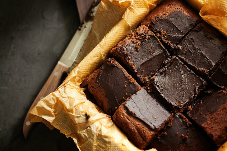 Receta: Saludables y Deliciosos Brownies Con 2 Ingredientes, crema