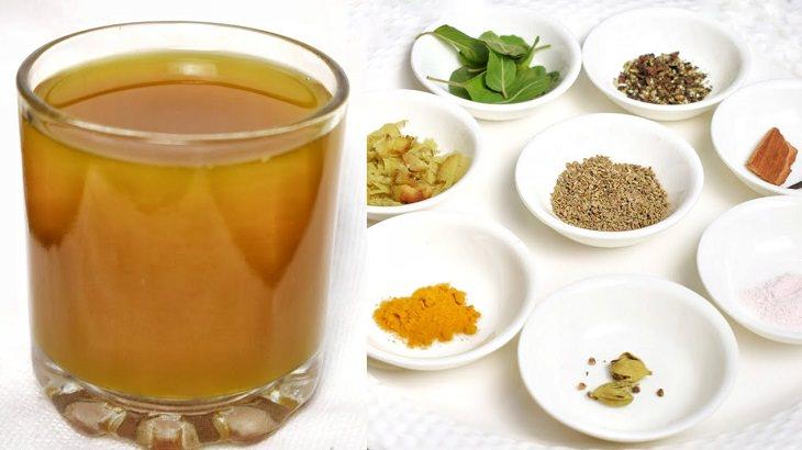 ingredientes necesarios para preparar kadha