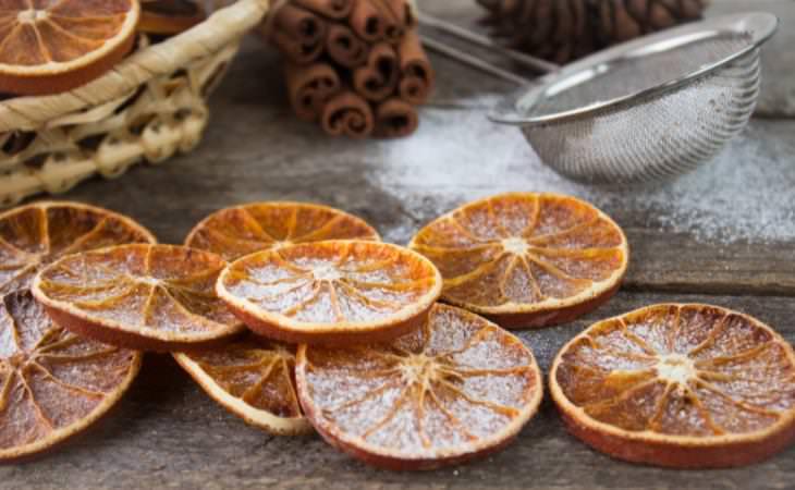 Recetas Con Naranjas Tostada de naranja seca y ricotta