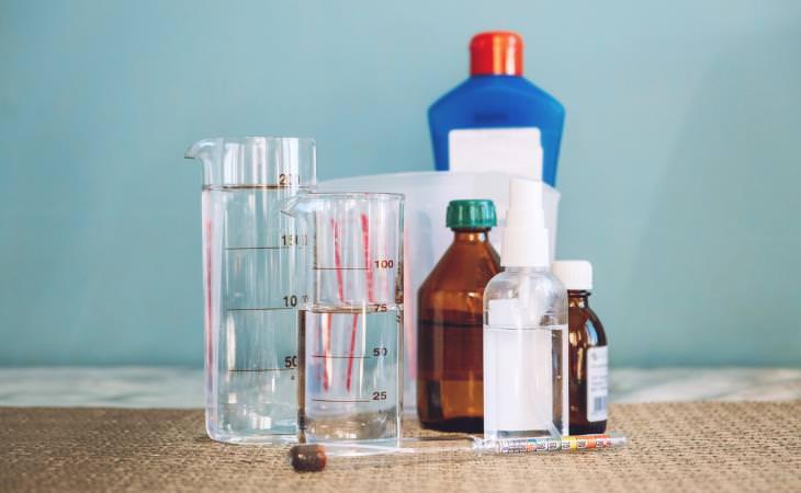 Peligros De Inhalar Peróxido De Hidrógeno Componentes químicos