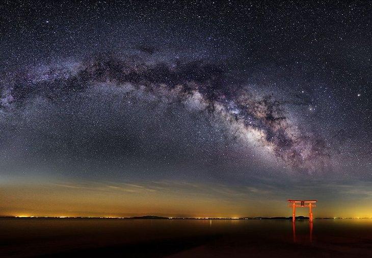 Paisajes Nocturnos Vía Láctea