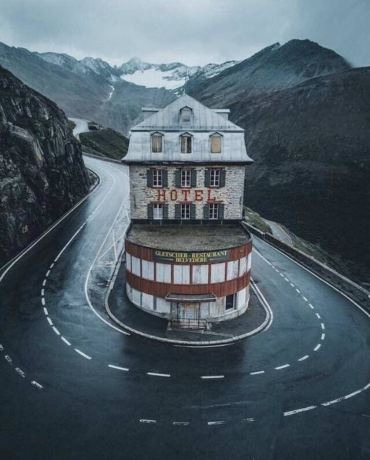 Imagenes Asombrosas De Nuestro Planeta Paso de Furka, Suiza