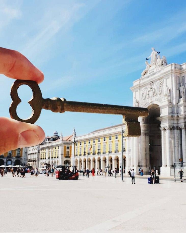 fotos ilusiones opticas llave