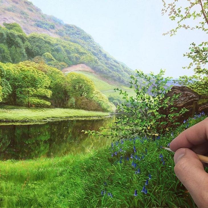 Michael James Smith pinturas paisaje realistas