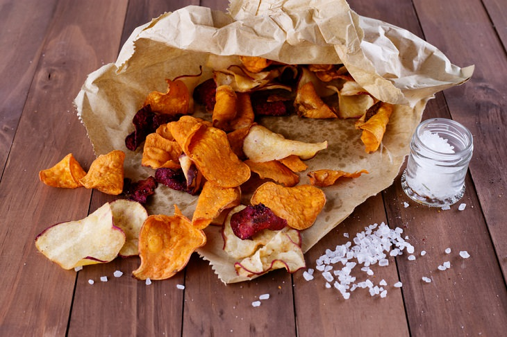 2. chips de verduras