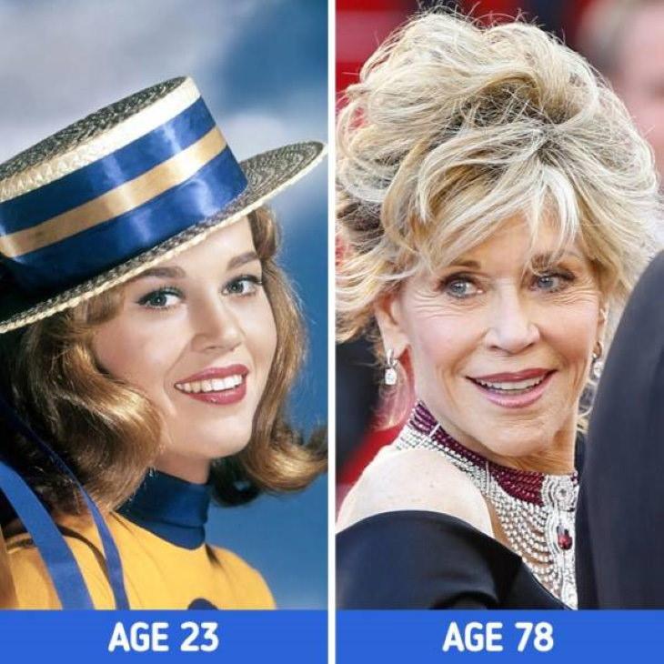 Actrices Que Embellecieron Con El Paso Del Tiempo Jane Fonda