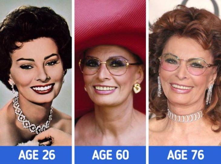 Sophia Loren Actrices Que Embellecieron Con El Paso Del Tiempo