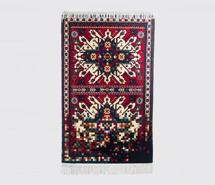 Alfombras De Faig Ahmed alfombra roja