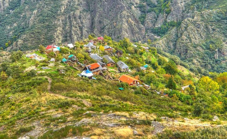 Villas Ecológicas Del Mundo Matavenero vista