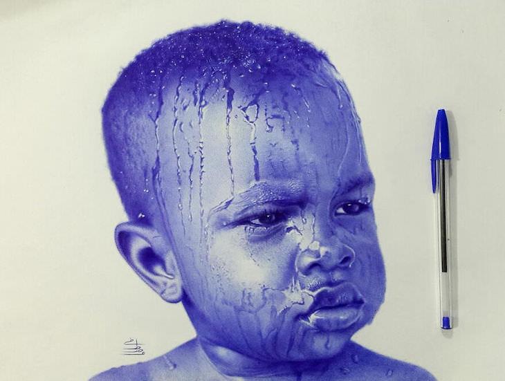 Dibujos De Mostafa Khodeir niño