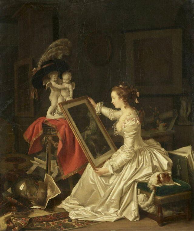 El alumno interesante de Marguerite Gérard (hacia 1786)