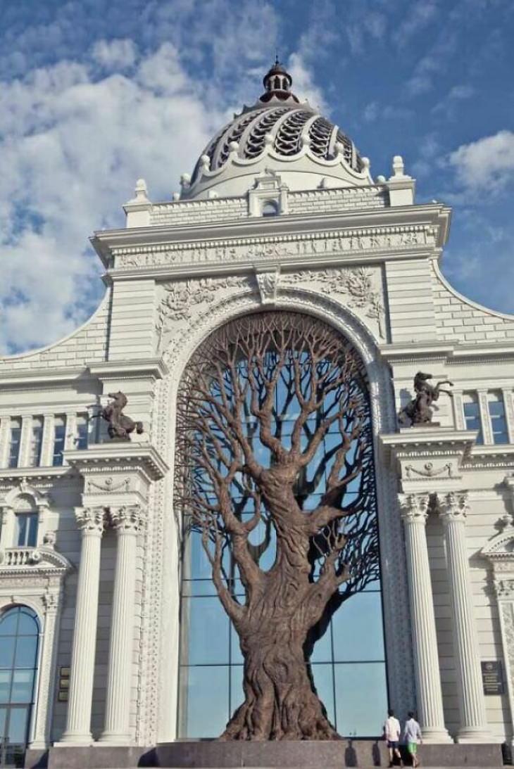 25 Asombrosos Edificios Ministerio de Agricultura de Kazán, Rusia