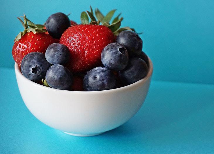 2. Come más frutas, verduras y verduras