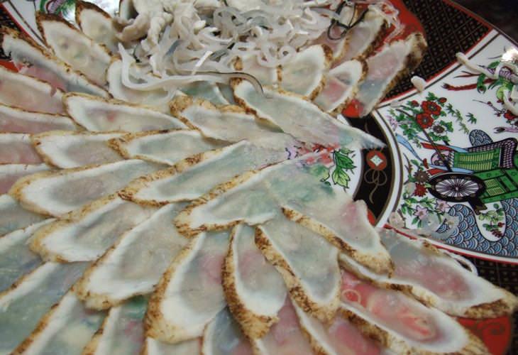 Alimentos extraños y peligrosos Fugu