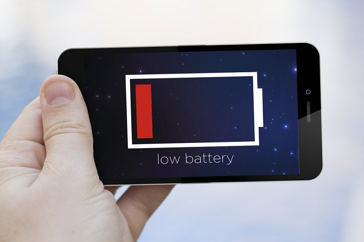 1. La batería se está agotando demasiado rápido