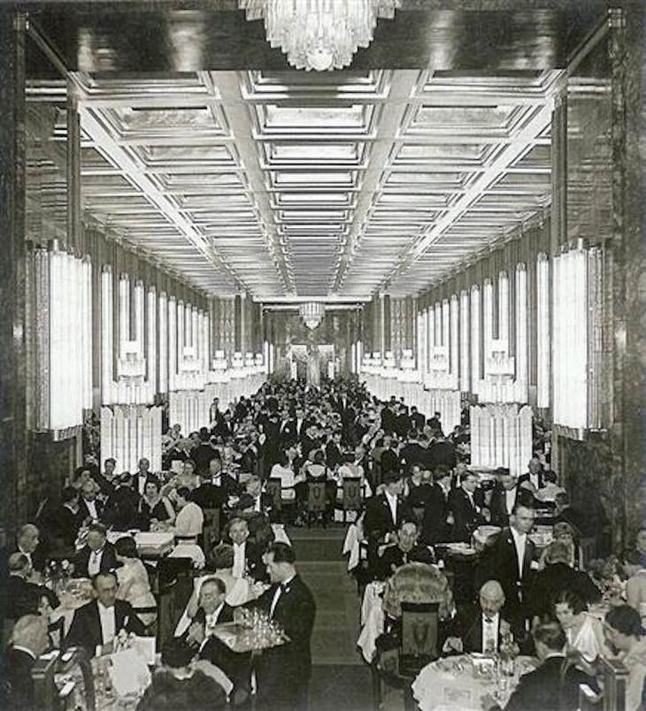 Fotos Cruceros De Lujo Los grandes transatlánticos como el Titanic tenían espacio para las experiencias gastronómicas más magníficas