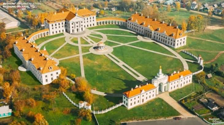 Palacios Reconstruidos Digitalmente Palacio Ruzhany, Belarrusia