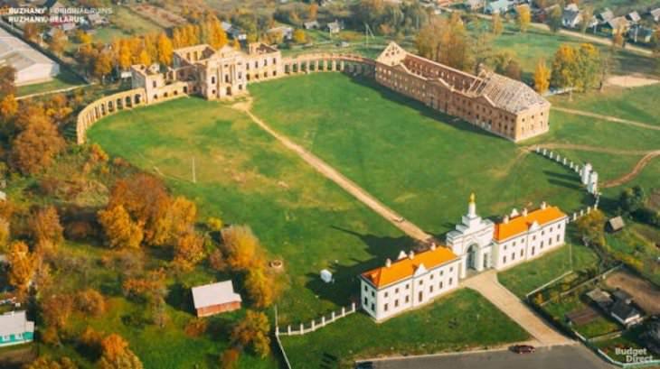 Palacios Reconstruidos Digitalmente Palacio Ruzhany, Bielorrusia