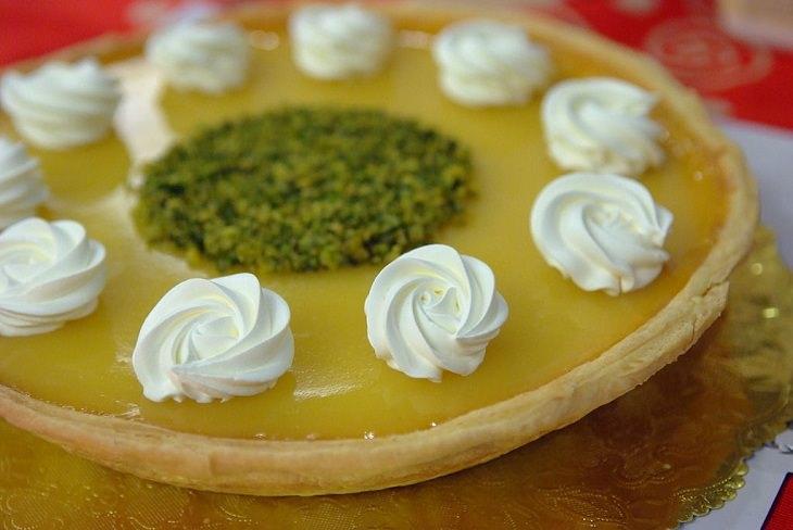 Recetas De Tartas Sin Horno Tarta de crema con calabaza