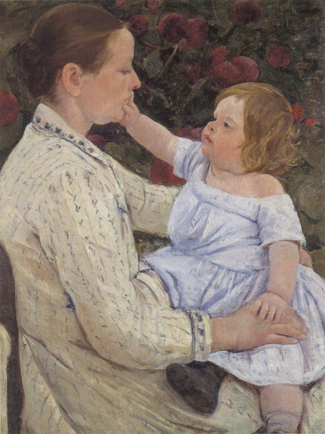 Pintoras Famosas Mary Cassatt (1844-1926)