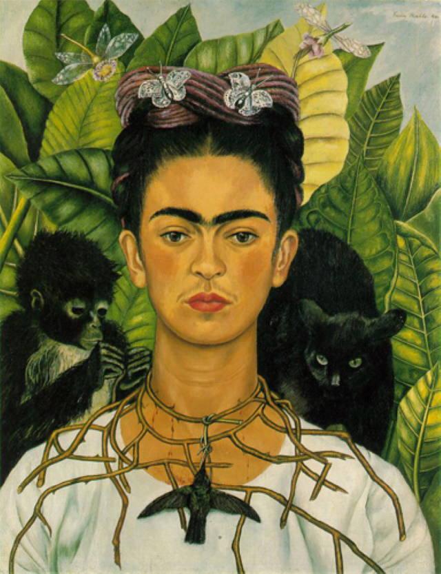 Pintoras Famosas Frida Kahlo (1907-1954)