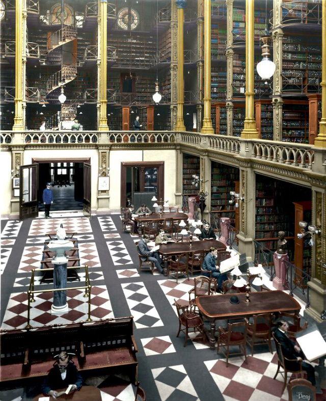 Estructuras Arquitectónicas Que Ya No Existen La gloriosa biblioteca pública de Cincinnati (1871-1955)