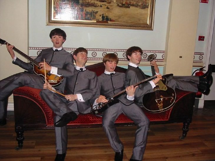 El Origen Del  Famoso Museo De Cera Madame Tussaud Figuras de cera de Los Beatles